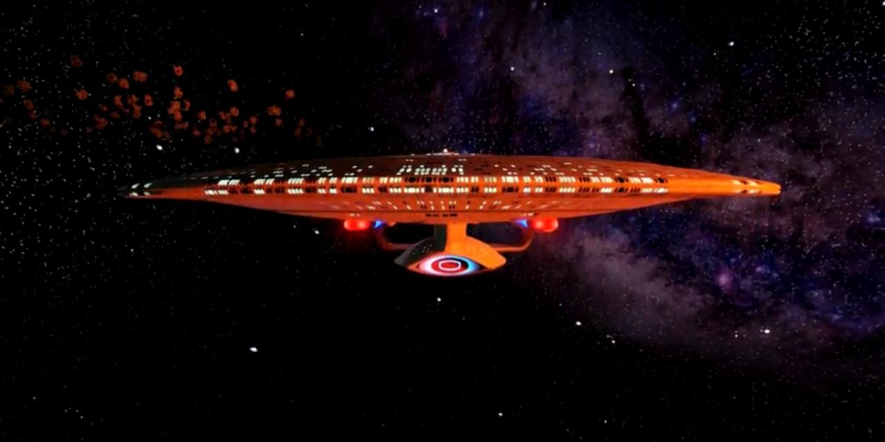 Rundgang durch die Enterprise D