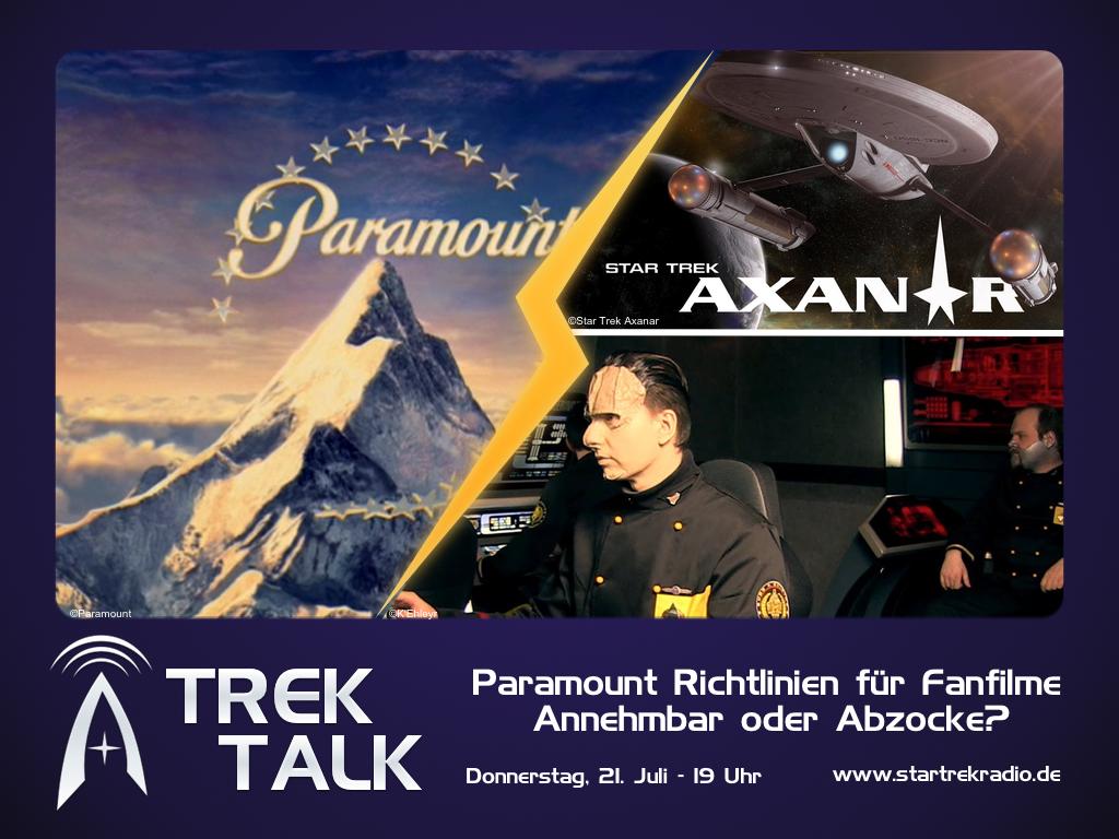 Trek Talk 3 – Paramount Richtlinien für Fanfilme: Annehmbar oder Abzocke?