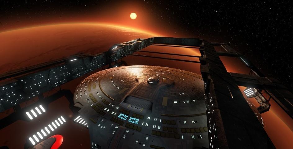 3D-Rundgang durch die »Enterprise D«