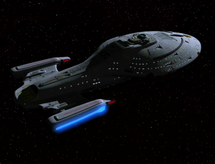 """<span class=""""dquo"""">»</span>U.S.S. Voyager« missing"""