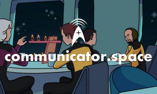 Star Trek Radio wird communicator.space